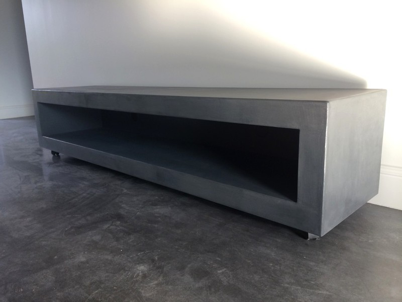 Table-Beton-Cire.Com Par Stuc&Co - Meubles Tv