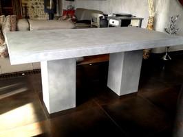table-beton-cire : le site des tables en béton ciré sur mesure