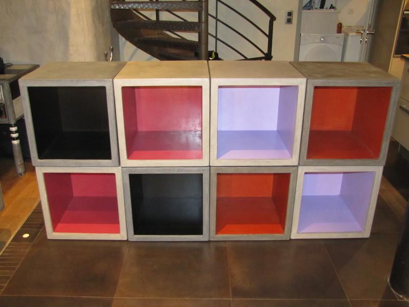 Stuc Par Béton En Beton Multifonctions CiréTable amp;co Cubes zLUqpMGSV