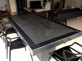 faire une table en beton cire