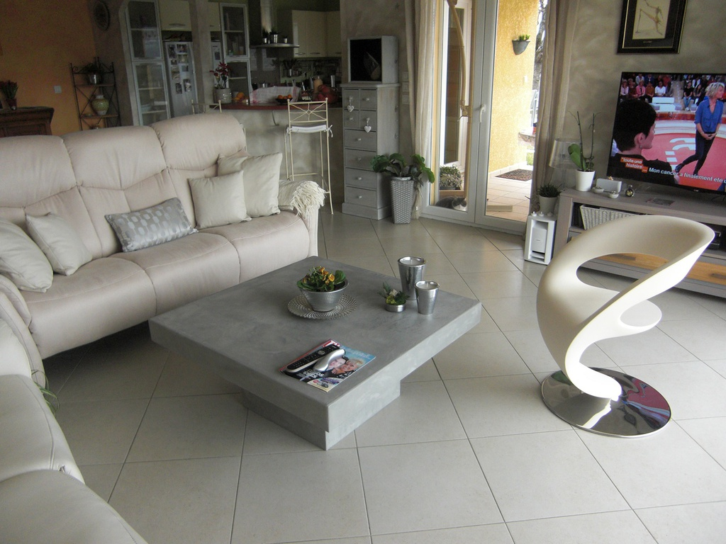 Table Beton Cire avec table-beton-cire : le site des tables en béton ciré sur mesure