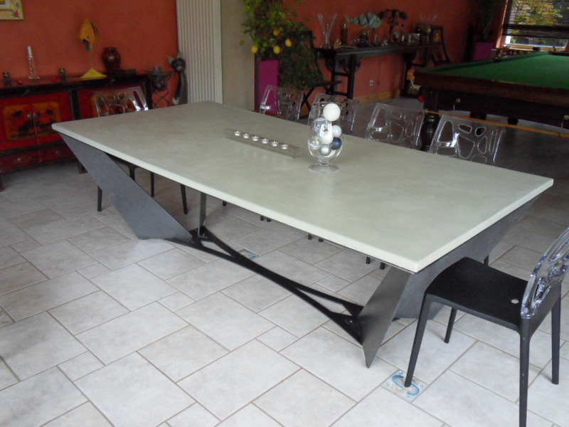 Table Beton Cire Com Le Site Des Tables En Beton Cire Sur Mesure